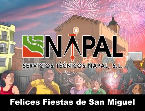 NAPAL os desea unas felices fiestas de San Miguel