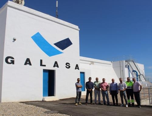NAPAL hizo ayer la entrega de la obra Ampliación del Depósito de Agua Potable de San Juan de los Terreros