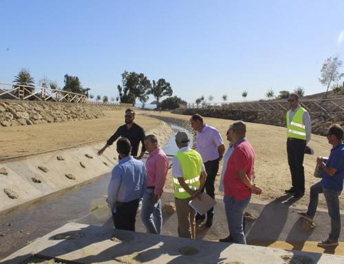 Napal hace entrega hoy de las obras realizadas en el Encauzamiento de la Rambla de San Juan de los Terreros
