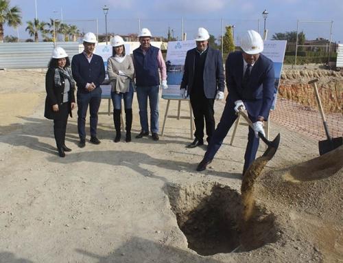 Obras del futuro Centro Deportivo «Mar de Pulpí»
